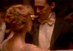 """""""It's incredibly romantic after the manner of the great gothic romance novels; and there's a big ball and they dance and look into each other's eyes and fall head over heels in love which is really against the wishes of many, many people in the room who have other plans for their family members. —Tom Hiddleston"""