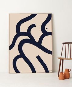 TDC: Abstract art prints | The She & Her Collection by Caroline Walls