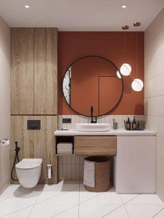 Washroom Design, Toilet Design, Bathroom Design Luxury, Modern Bathroom Design, Home Interior Design, Interior Decorating, Designs For Small Bathrooms, Small Bathroom Ideas, Interior Ideas