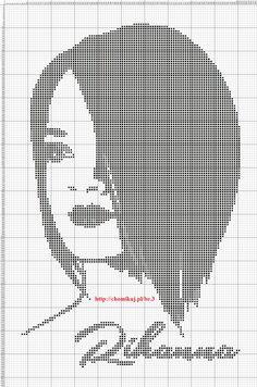 Rhianna x-stitch
