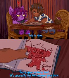 Please tell me this is something lance would soo do xD (Voltron Lilo and Stitch AU) taffydesu.tumblr.com/post/1535… www.instagram.com/taffydesu/ twitter.com/taffydesu