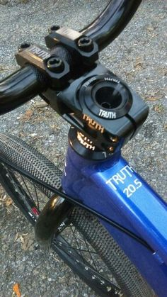 Truth cnc stem,fork bolt,headset and headset spacer comb