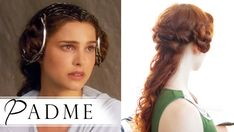 Star Wars Hair Tutorial - Padmé in Attack of the Clones