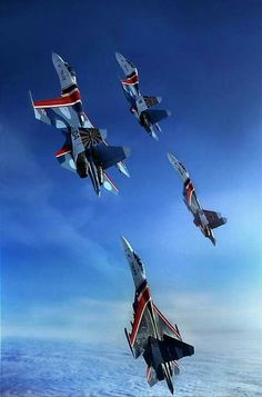 'Russian Knights' aerobatic - Google 搜尋 Jet Fighter Pilot, Air Fighter, Fighter Jets, Aircraft Parts, Fighter Aircraft, Luftwaffe, Russian Military Aircraft, Photo Avion, Russian Air Force