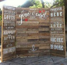 rustic wooden wedding photo booth backdrop ideas #weddingdecor #weddingideas #weddingphotos #weddingbackdrops #weddinginspiration