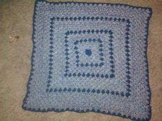 Granny square baby blanket :)
