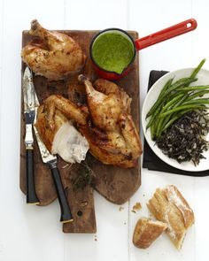 Crispy Roast Chicken