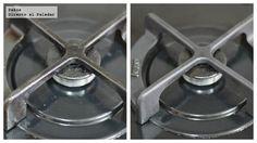 Cómo limpiar los fogones y quemadores sin esfuerzo. Truco de cocina para limpiar las cocinas de gas sin tener que frotar ni respirar sustancias tóxicas