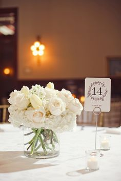 Simple and incredibly elegant. #blacktie #weddingdecor #formalwedding