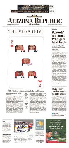 The Arizona Republic 2/23/16 via Newseum