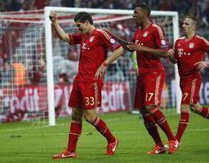 Mario Gomez, Jerome Boateng, Franck Ribery