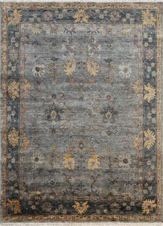 Handcrafted, vintage rugs that are a modern interpretation of sophisticated look for any décor