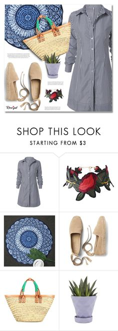 """""""Summer Haul with Rosegal"""" by defivirda ❤ liked on Polyvore featuring Gap, Balenciaga and Chive"""