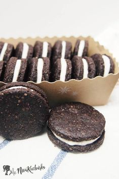 Domáce Oreo Muesli, Oreos, Healthy Recipes, Candy, Cookies, Chocolate, Desserts, Sweet, Crack Crackers