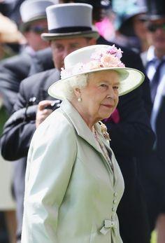 thebritishnobility:  Royal Ascot 2014 Day 2, June 13, 2014-Queen Elizabeth