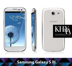 Galaxy S III superphone goes big where it counts, a large HD screen, fast data support and a sharp camera! Available with free shipping only at http://khayashopping.com/   or come see us at our store in Westgate Mall, Harare Zimbabwe.