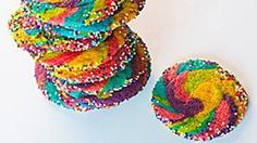 The holidays are, of course, sugar cookie season! While a little different from your typical red and green spread, these Rainbow Pinwheel cookies are fun to make any time of year.