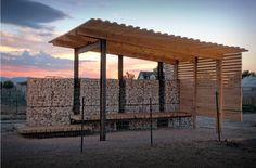 DIY Pallet Möbel Landwirtschaftliche Produktion Zentrum von recycelten Holzpaletten gebaut4
