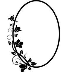 Floral frame vector 1661327 - by mtmmarek on VectorStock®