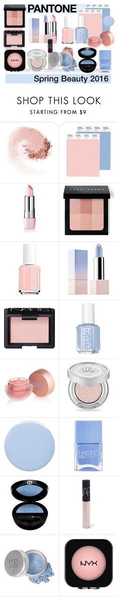 """""""Pastel Perfection"""" by patricia-dimmick on Polyvore featuring beauty, NARS Cosmetics, Bobbi Brown Cosmetics, Essie, Sephora Collection, Lipstick Queen, Urban Decay, Deborah Lippmann, Nails Inc. and Giorgio Armani"""
