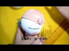 2016 07 10 襪子娃娃教學 - YouTube