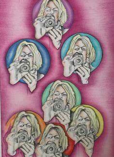 AutoRévolution Crayon sur papier 50X32 - Mental Systémique Art Galerie Crayon, Lion Sculpture, Statue, Fictional Characters, Art, Paper, Art Background, Kunst, Fantasy Characters