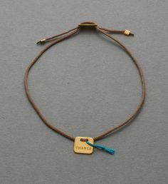 "glücksbringer armband mit goldenem ""chance"" von vanrycke"