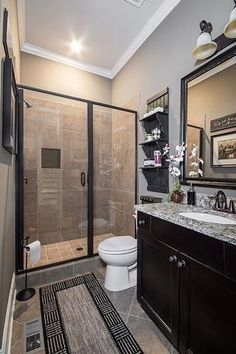 20 Gorgeous Small Bathroom Remodel Ideas On A Budget. 20 Gorgeous Small Bathroom Remodel Ideas On A Budget. There are many different ways you can do a small bathroom remodel and make it look more functional, easier to […] Restroom Remodel, Diy Bathroom Remodel, Diy Bathroom Decor, Bathroom Design Small, Bathroom Interior Design, Bathroom Renovations, Modern Bathroom, Restroom Ideas, Small Bathrooms