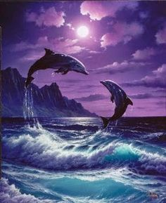 Joey Brumbaugh uploaded this image to 'Ocean-Pictures/Dolphins'. See the album on Photobucket. Orcas, Water Animals, Animals And Pets, Strange Animals, Beautiful Creatures, Animals Beautiful, Dolphins Tattoo, Dolphin Art, Wale