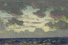 Santa Barbara Sunset by Colin Campbell Cooper | Art Posters