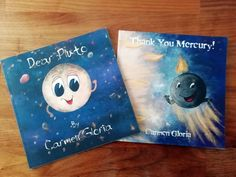 """Both of my #books are #FREE today celebrating #Apollo11's #moon landing 50th anniversary! """"Thank You Mecury"""" is only free today, and """"Dear… Moon Landing, 50th Anniversary, Solar System, Children's Books, Disney Characters, Fictional Characters, Illustrations, Kids, Free"""