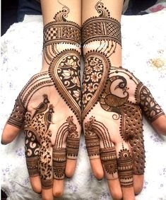Top 111+ Simple & Latest Arabic Mehndi Designs for Hands & Legs