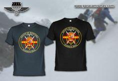 Guardia Real. Grupo de Montaña. Camisetas Militares. www.paracamisetas.com
