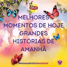 Go to Tomorrowland with Lipton Ice Tea - Please vote!!  Translation: Best moments of today, Big stories of tomorrow THANK YOU