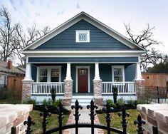 This Lovely Craftsman Will Soon Have A Twin In Inner City Houston - Craftsman home rehabilitation in houston