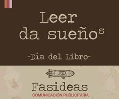 #DíadelLibro #FelizDíadelLibro #SanJordi #Creatividad #Diseño #Comunicación