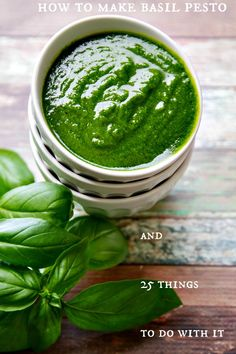 pesto can be turned into a fast, delicious dinner or appetizer in no time! Includes recipe plus downloadable pdf for 25 things to make with pesto! | www.thewickednoodle.com | @thewickednoodle