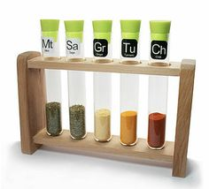 Scientific Spice Rack  by TheLittleBoysRoom €24.76