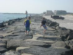 Jetty Beach in Brigantine, NJ