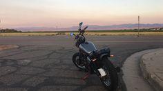 Suzuki GZ250 and the Colorado mountains.