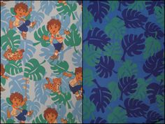 Go, Diego, Go! Twin sheet set -includes flat, fitted, and pillowcase