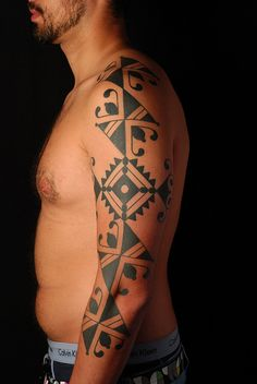 tribal kadiweu tattoo tradition misi by tattootradition, via Flickr