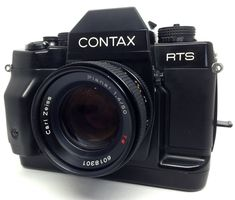[Near MINT] Contax RTS III 35mm SLR Film Camera w/Planar 50mm f1.4 Lens from JPN #Contax