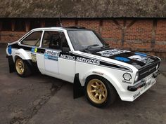 Mk2 Escort Ford Rs, Car Ford, Sports Car Racing, Race Cars, Road Racing, Pajero Off Road, Ford Escort, Escort Mk1, Ford Classic Cars