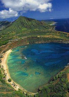 Hanauma Bay Nature Preserve, Oahu, Hawaii, USA