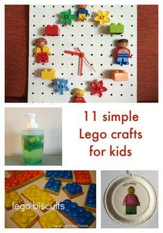 Lego crafts for kids