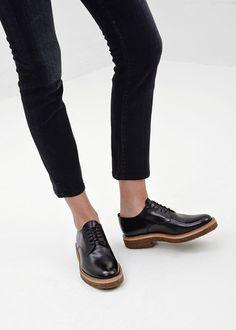 Dries Van Noten Lace Up Derby in Black #totokaelo #driesvannoten #derbies #shoes
