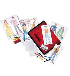 Fashion Design Studio Kit with Professional Portfolio