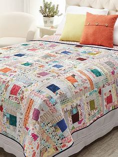 Quilting Beginner Quilt Patterns Wonky Log Cabin Quilt Pattern 2019 Quilting Beginner Quilt Patterns Wonky Log Cabin Quilt Pattern The post Quilting Beginner Quilt Patterns Wonky Log Cabin Quilt Pattern 2019 appeared first on Quilt Decor. Bed Quilt Patterns, Log Cabin Quilt Pattern, Beginner Quilt Patterns, Log Cabin Quilts, Quilting For Beginners, Quilting Ideas, Log Cabin Patchwork, Beginner Quilting, Strip Quilts
