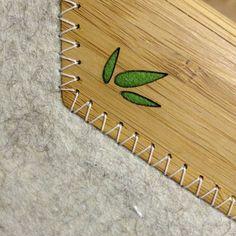 iPad Sleeve - Bamboo + Wool